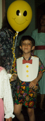 Patrick at Challenger Preschool 1992 Program.